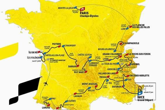 Le prochain Tour de France  fait saliver les grimpeurs