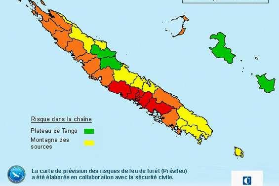 Interdiction de faire des feux partout en Calédonie