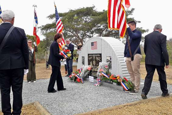 Un mémorial en souvenir des soldats américains