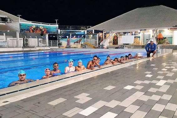 Un stage de préparation à la piscine le Grand bleu