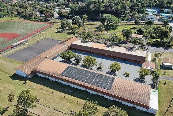 Une deuxième école équipée en panneaux photovoltaïques