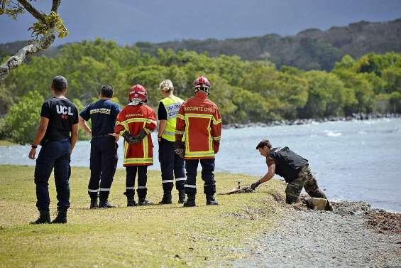 Un obus découvert plage de Magenta