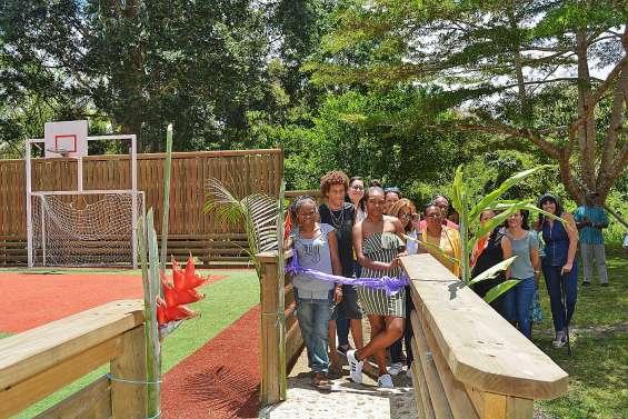 Des jeunes de Pothé ont construit leur plateau sportif