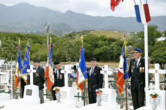 Un hommage rendu aux morts pour la patrie