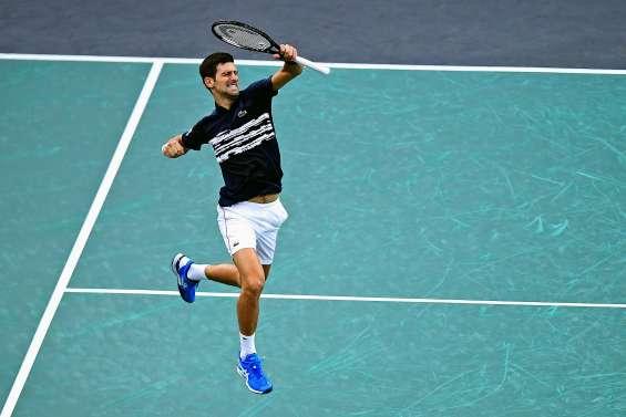 Novak Djokovic s'offre un cinquième titre à Bercy