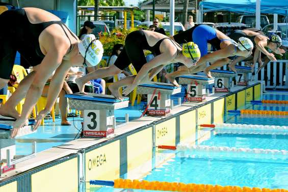 La natation calédonienne dispute ses interclubs ce week-end