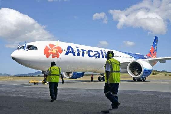 Un des deux Airbus A330neo cloué au sol à La Tontouta