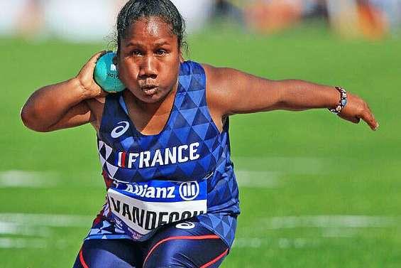 Rose Vandegou dans le top 10 mondial au lancer de poids