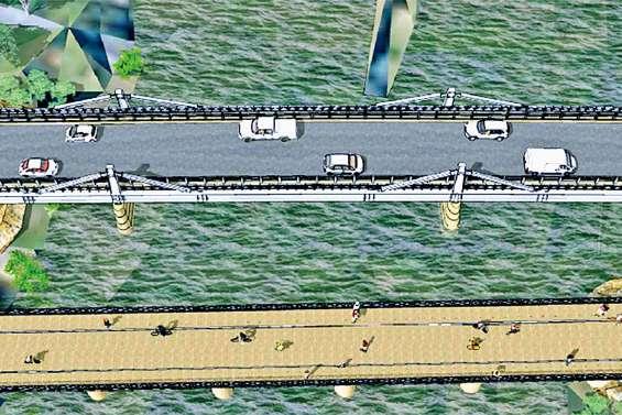 Le nouveau pont de la Dumbéa devrait  ouvrir à la circulation en octobre 2020