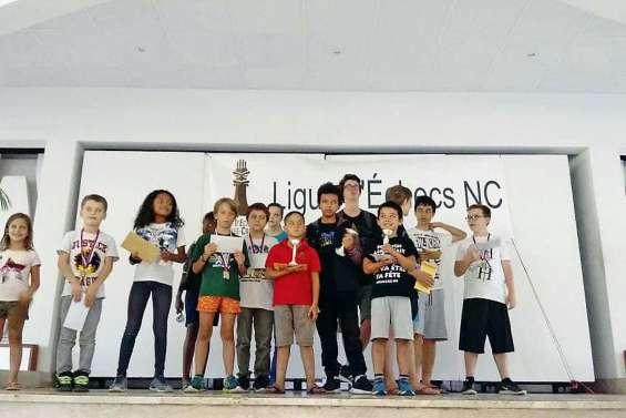 Le championnat d'échecs blitz jeunes 2019 remporte un nouveau succès