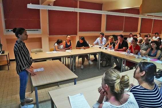 Des élèves du lycée Lapérouse mesurent leur verve