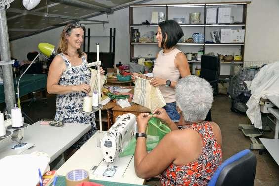 Saint-Vincent-de-Paul propose un  atelier de couture pour réutiliser le tissu