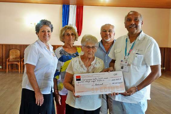 La Bouraillaise offre 115 000 francs à la ligue contre le cancer