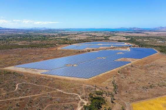 Mise en service de la seconde tranche de la centrale solaire