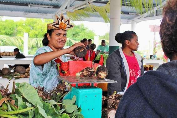 La neuvième édition de la fête du taro se déroule ce week-end