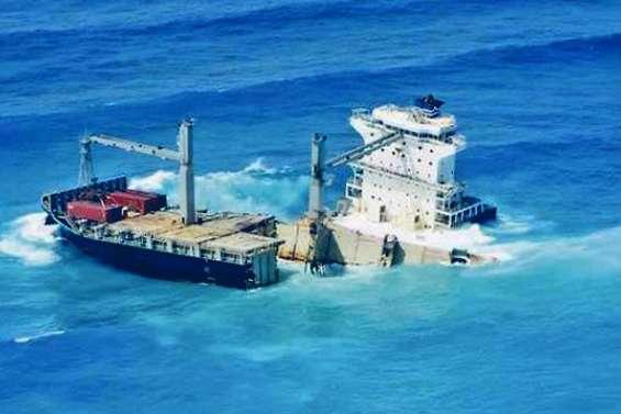 L'Etat valide le plan de retrait du Kea Trader