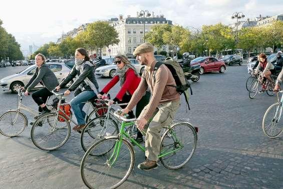 La grève des transports publics ouvre un boulevard au vélo