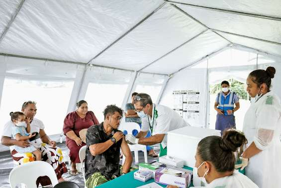 Campagne de vaccination contre la rougeole à huis clos