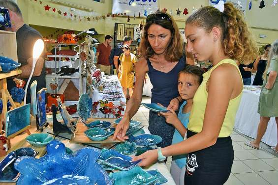 Le marché de Noël des artisans d'art est ouvert
