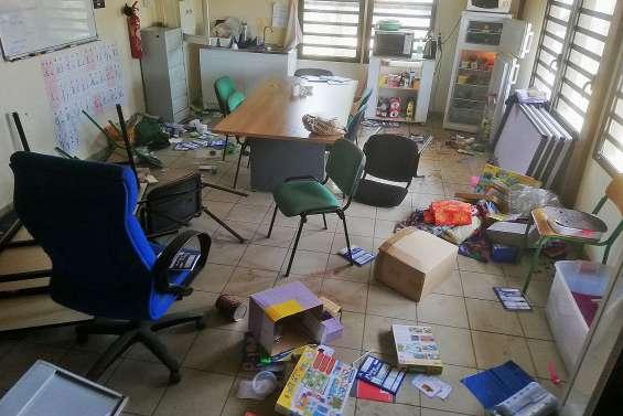 L'école Jean-Ounou-Cottin de nouveau vandalisée ce week-end