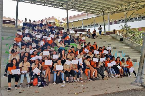 Les collégiens d'Ondémia diplômés en secourisme