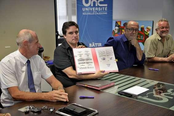 L'UNC signe un accord avec une université chilienne