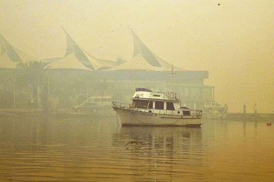 L'Est asphyxié par des fumées toxiques