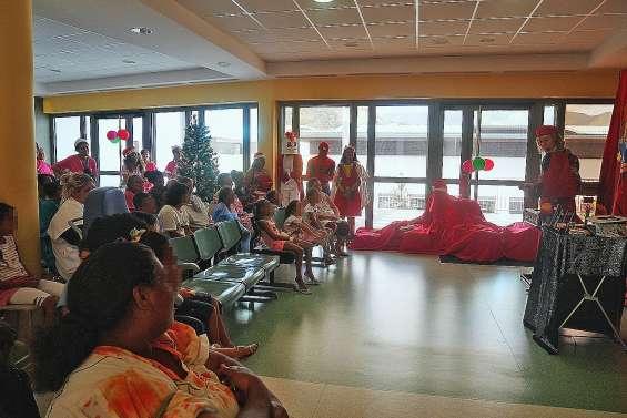Les enfants ont fêté Noël au Médipôle