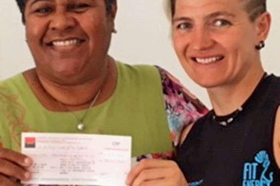 Fit Energy fait un don d'1,1 million au refuge des femmes