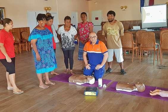 Une formation aux gestes de premiers secours, à la mairie