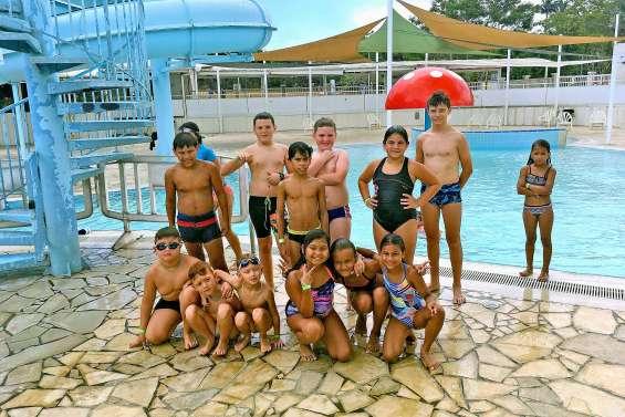 Sortie de fin d'année pour les dauphins de la piscine