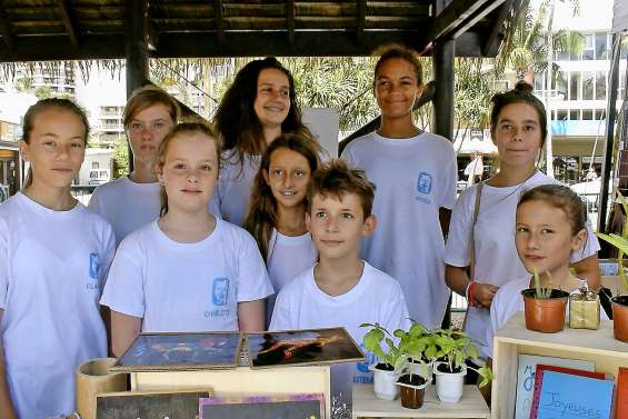 La jeunesse s'engage pour la protection de la planète