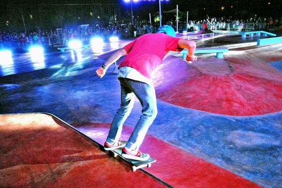 Skatepark et parcours à l'Arène du Sud