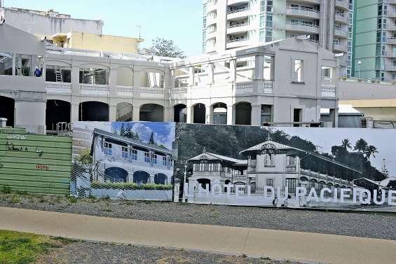 L'Hôtel du Pacifique bientôt reconstruit