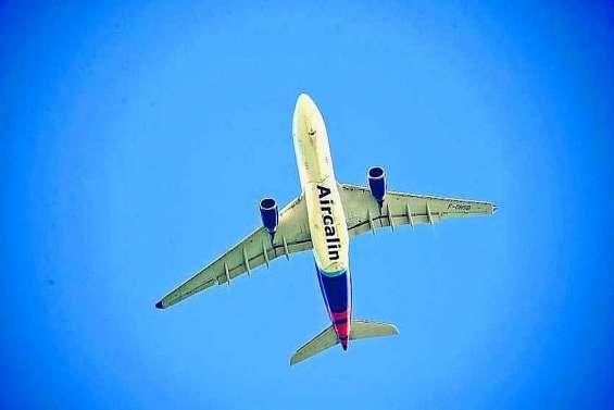 Une enquête sur le transport aérien