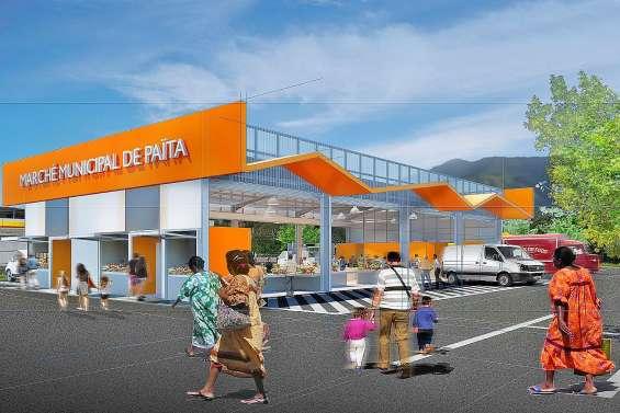La construction du nouveau marché  a été actée par le conseil municipal