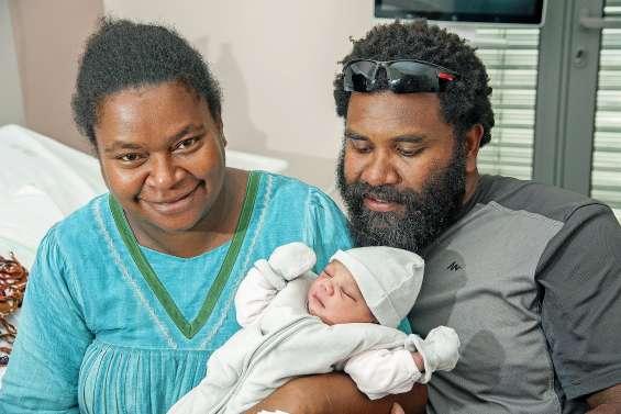 Le premier bébé de l'année est une fille