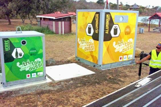 Le recyclage du verre et des cannettes gagne du terrain