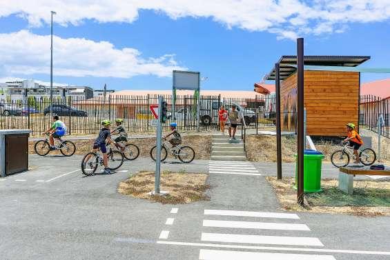 La piste de sécurité routière ouverte au grand public