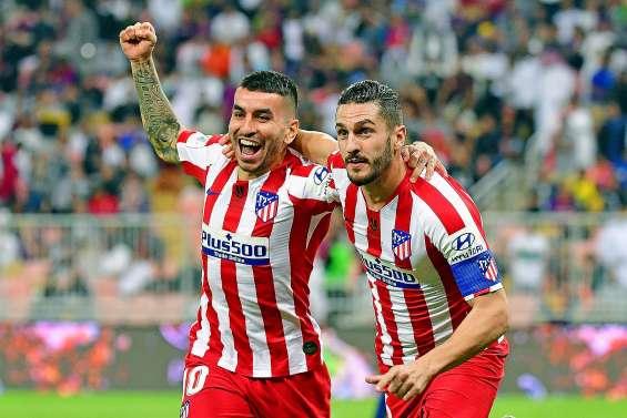 L'Atlético renverse le Barça et rejoint le Real