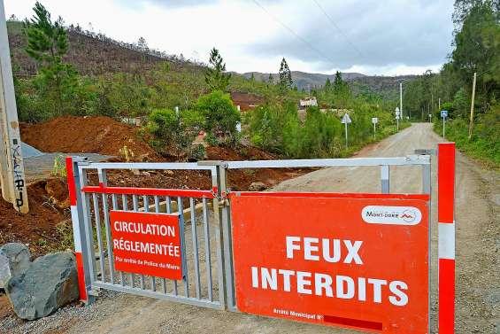 L'accès à la Montagne des sources interdit aux voitures