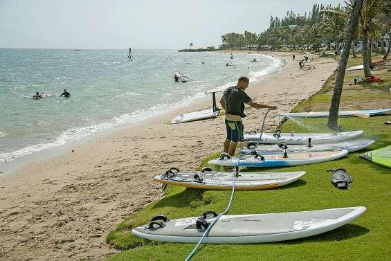 Peut-on se baigner partout sans risque  plage de l'Anse-Vata ?