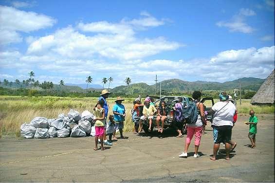 Opération plage propre demain à Waraï