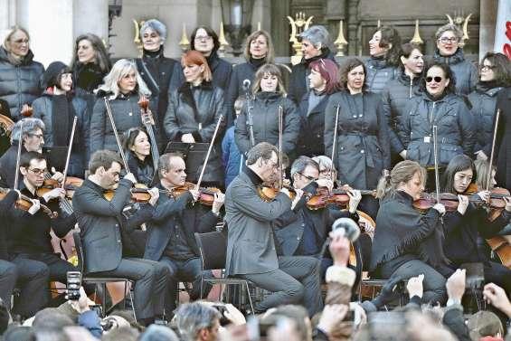 Un concert contre la réforme des retraites