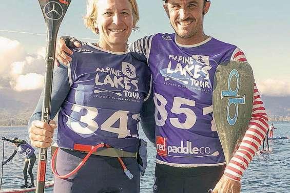 Titouan Puyo l'emporte au lac d'Annecy
