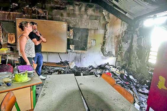 Un mineur reconnu coupable de l'incendie de l'école James-Paddon sous les verrous