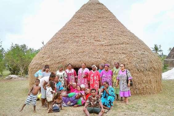 La petite chefferie a fini sa case à Béilawa