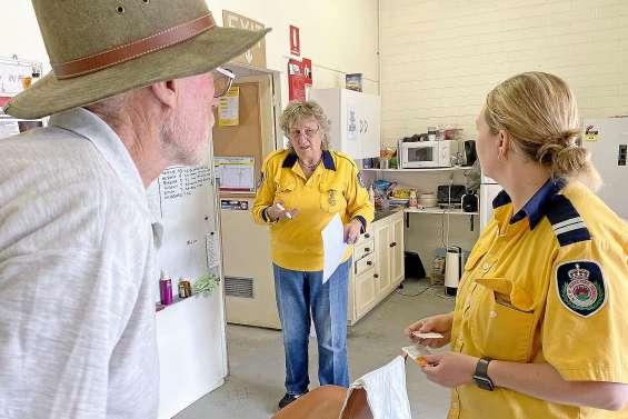 Pompier volontaire depuis trente ans, Maggie n'avait jamais vu ça