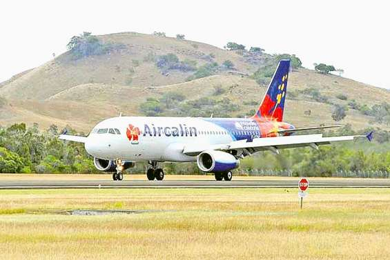 Aircalin annule son vol charter en provenance de Chine