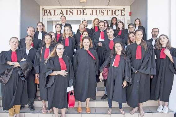 Les avocats mobilisés pour leurs confrères métropolitains